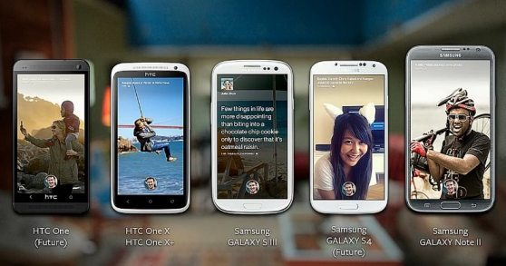 facebook home android models